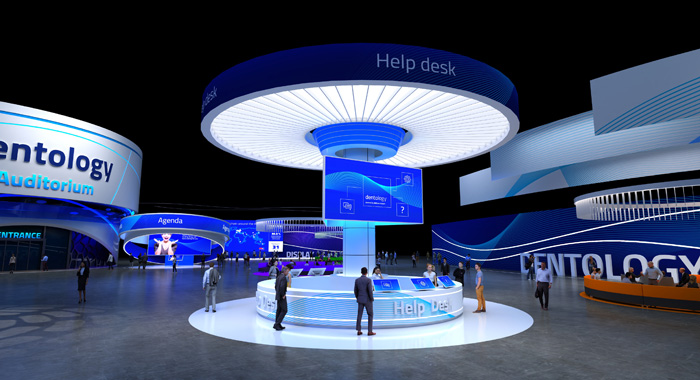2020-11-19_HenrySchein_press-release_Dentology_sneak-peak_3Dworld-lobby700x380px